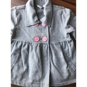Girls Toddler 3T Gray Children's Place Jacket.